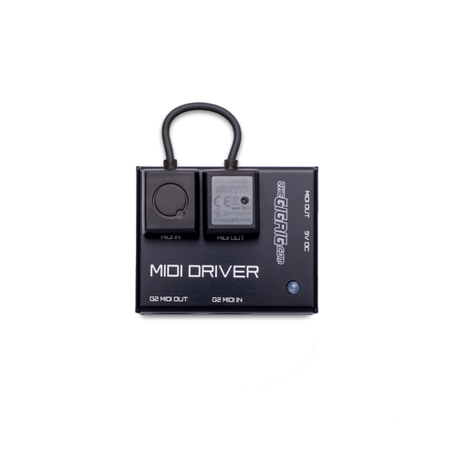 The GigRig MIDI DRIVER with Quicco Mi.1  Wireless Interface