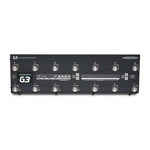 The GigRig G3 Advanced Effects Switching System - Top view