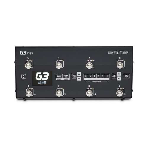 The GigRig G3 Atom Effect Switching System - Top View