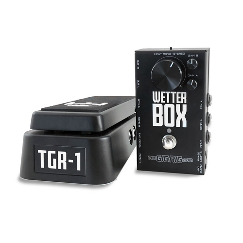 The GigRig Wetter Box / TGR- 1 Expression Bundle . Front View