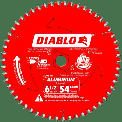 6‑1/2 in. x 54 Tooth Medium Aluminum Cutting Saw Blade