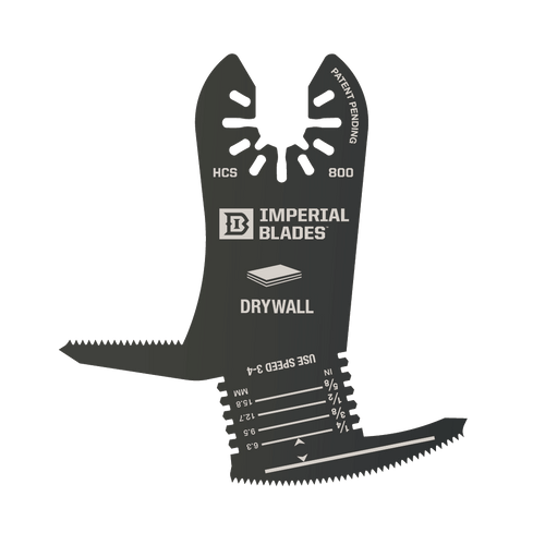Imperial Blades One Fit™ 4-IN-1 Features Drywall Blade, 1PC