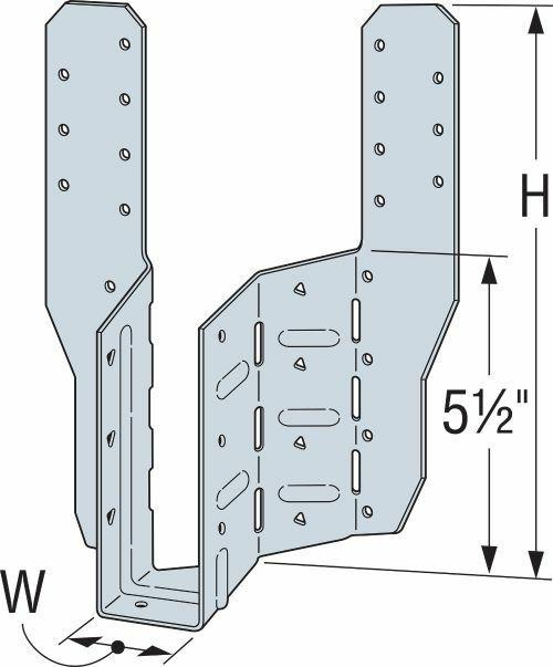 THASR/THASL Adjustable/Skewable Truss Hangers