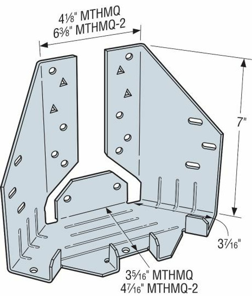 MTHMQ Medium-Duty Multiple-Truss Hanger