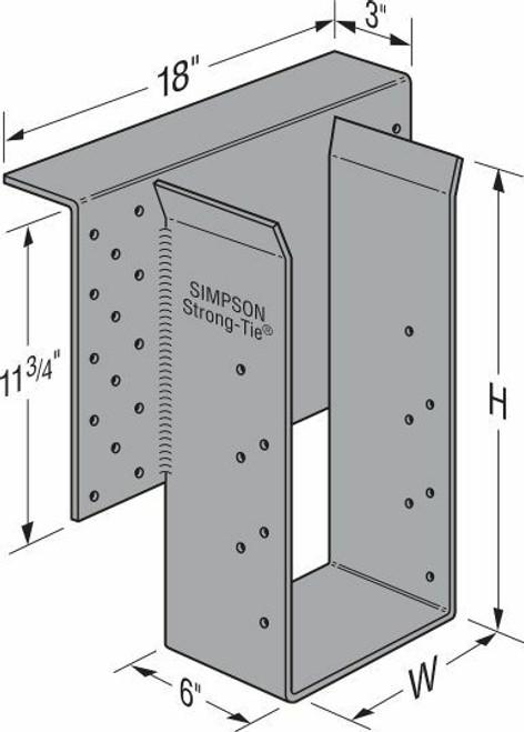 EGQ High-Capacity Top-Flange Hanger