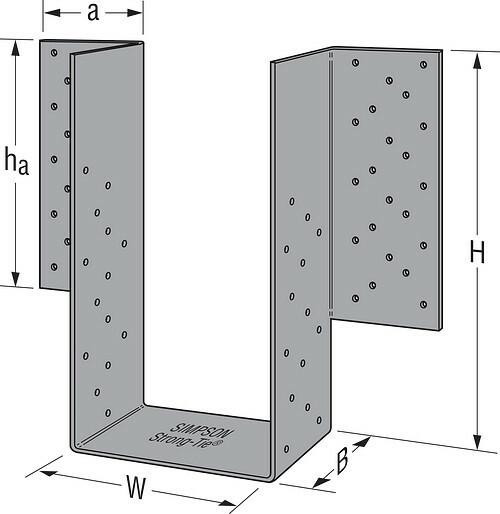 LGU/MGU/HGU/HHGU High-Capacity Girder Hangers