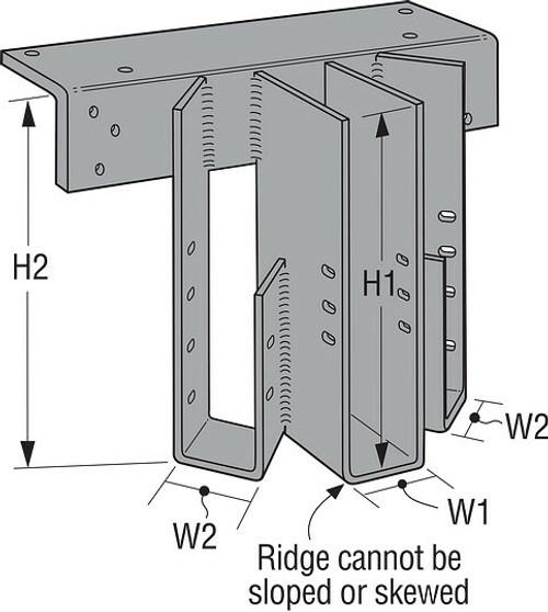 MSC Multiple-Seat Top-Flange Connector