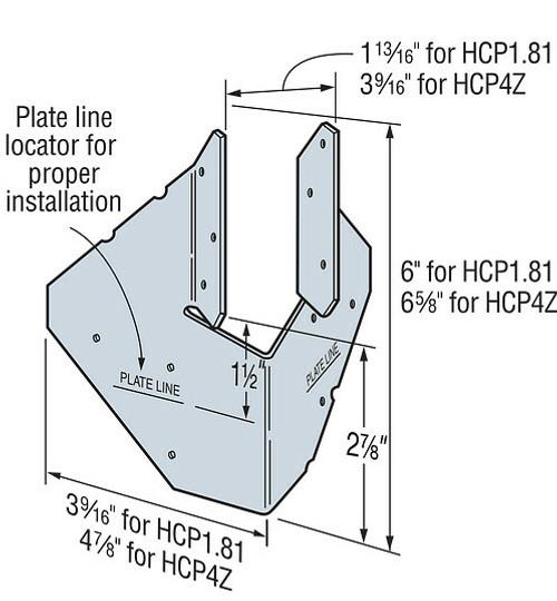 HCP Hip Corner Plate