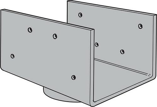LCC Lally/Steel Column Caps