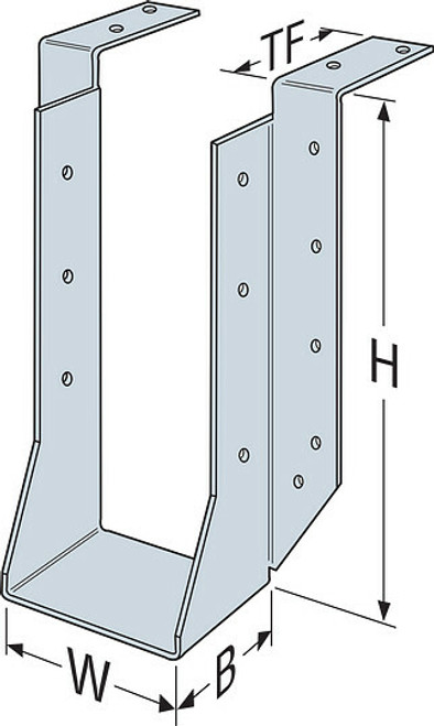 HUTF Heavy-Duty and Double-Shear Joist Hangers