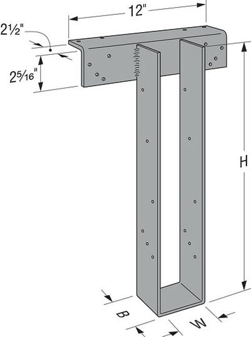 HWP High-Capacity Top-Flange Hangers