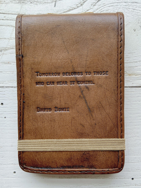 Tomorrow Belongs To Those Who Can Small Leather Journal
