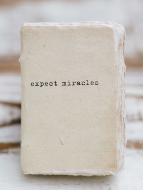 Expect Miracles Mini Paper Journal