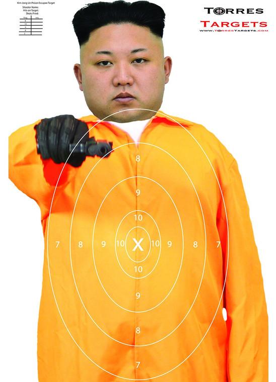 Kim Jong Un Prison Escapee Target With Rings