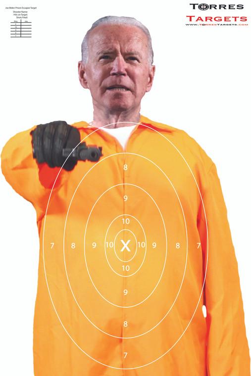 Joe Biden Shooting Target - Prison Escapee