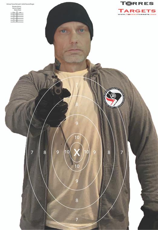 Michael Forest Reinoehl Shooting Target - Antifa Terrorist