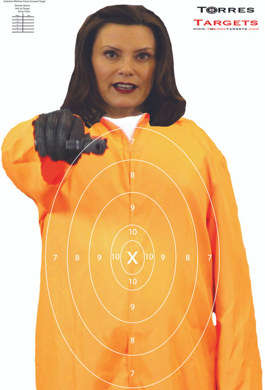 Gretchen Whitmer Shooting Target - Prison Escapee