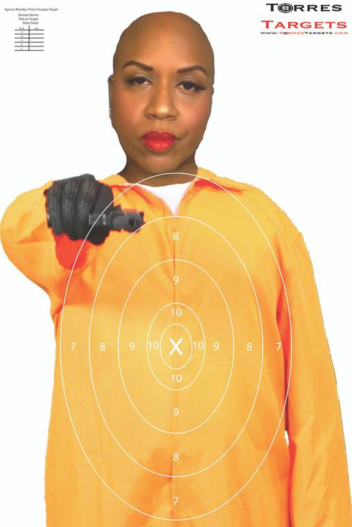 Ayanna Presley Shooting Target - Prison Escapee