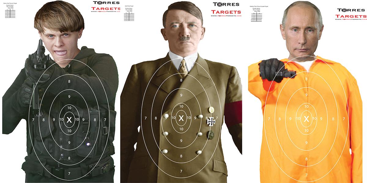 Photo Shooting Targets Photo Shooting Targets for indoor and outdoor ranges