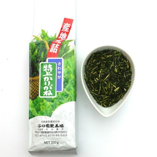 Premium Grade Karigane Tea (Twig Tea) from Taniguchien Thumbnail