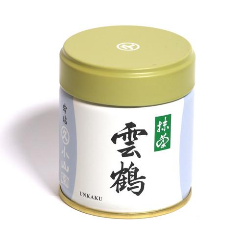 Unkaku Matcha 40g can by Marukyu Koyamaen