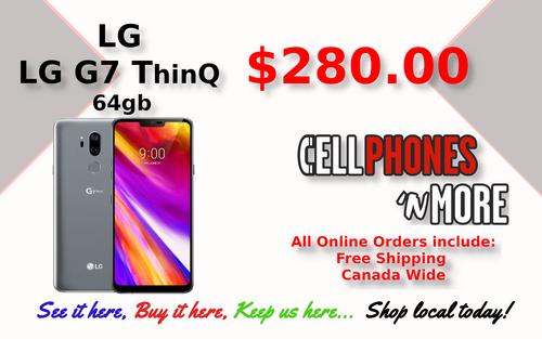 LG G7 ThinQ 32gb