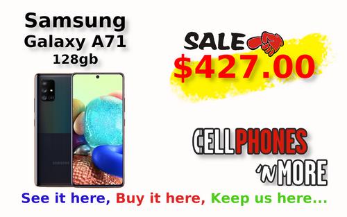 Galaxy A71 Prism Crush Black 128gb