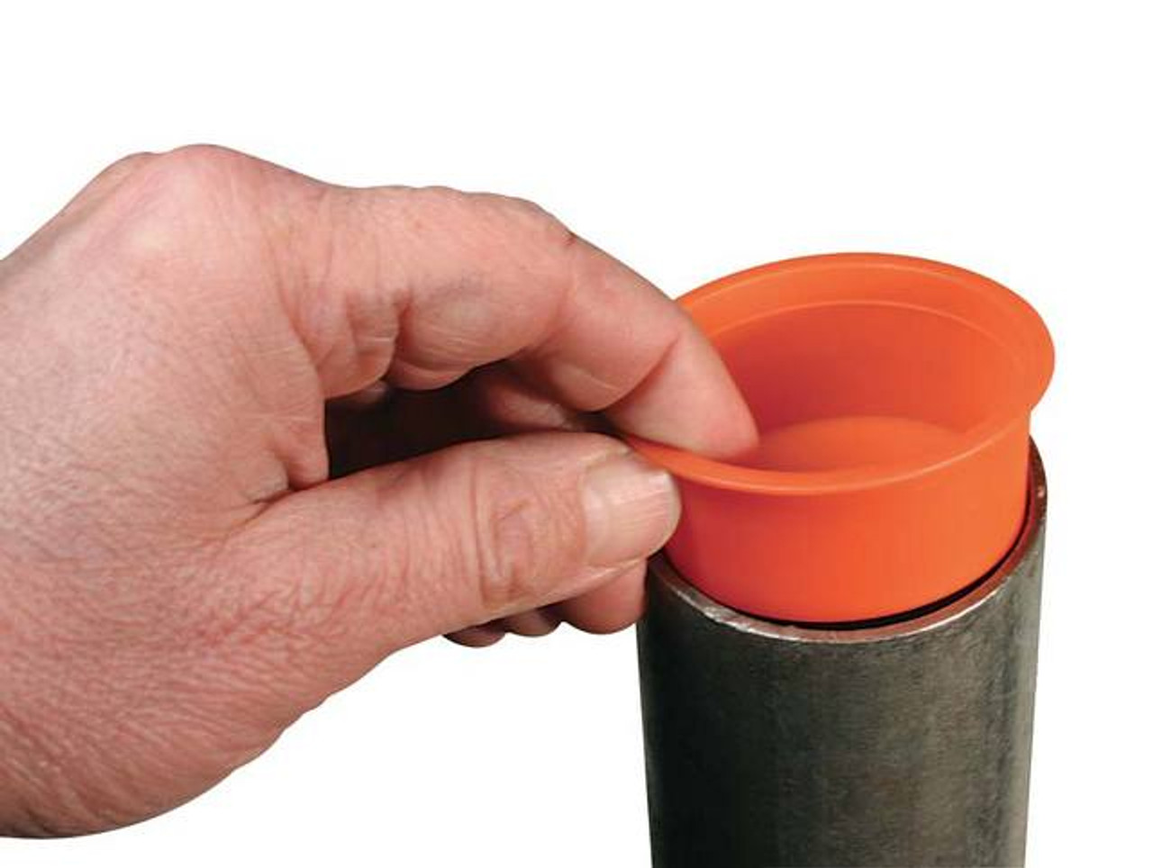 Plastic Flanged Round Pole Insert Post Pole Hardware Tapco