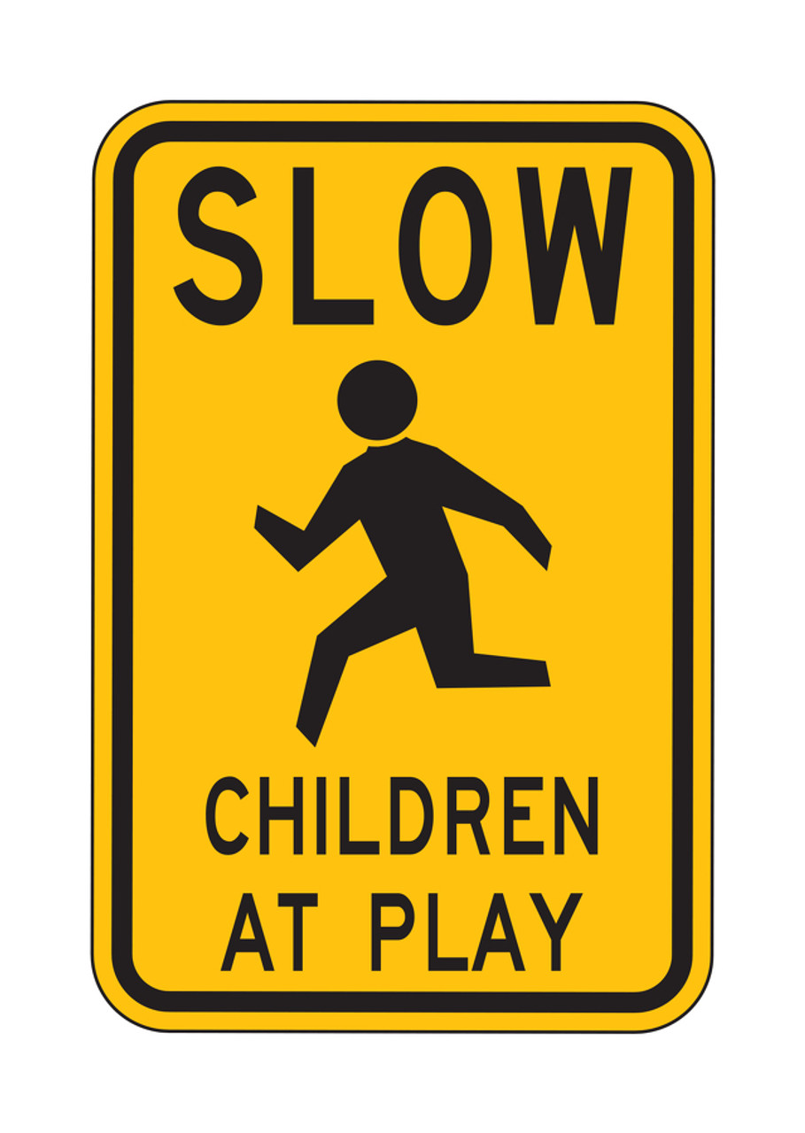 """NEW IN PACKAGE road sign SLOW DOWN  9/"""" x 12/"""" ALUMINUM SIGN street sign"""