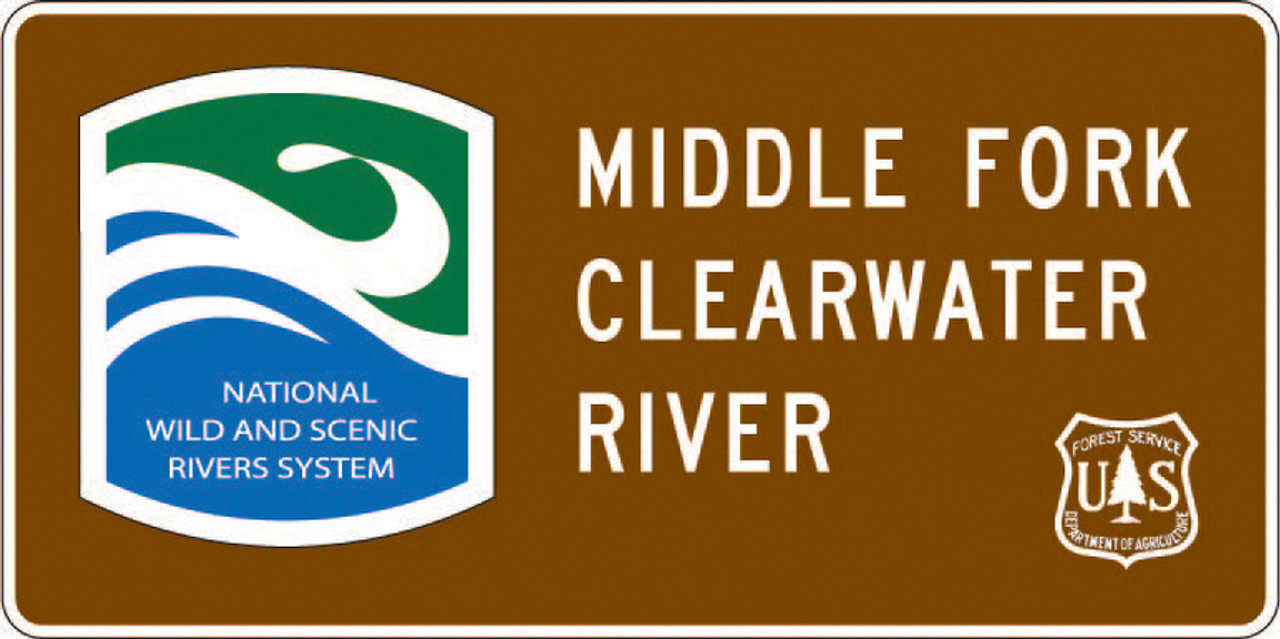 national wild and scenic river sign