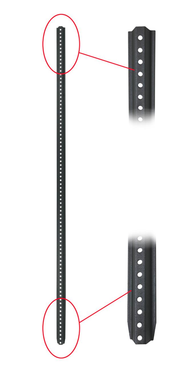 White Econoco TOR-3W109 Male Full Round Butt Form