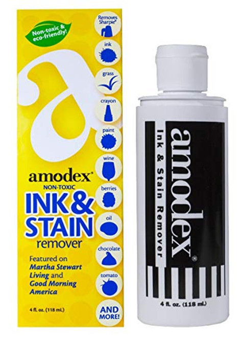 Amodex - Non-Toxic and Eco Friendly Ink & Stain Remover Bottle 118 ml