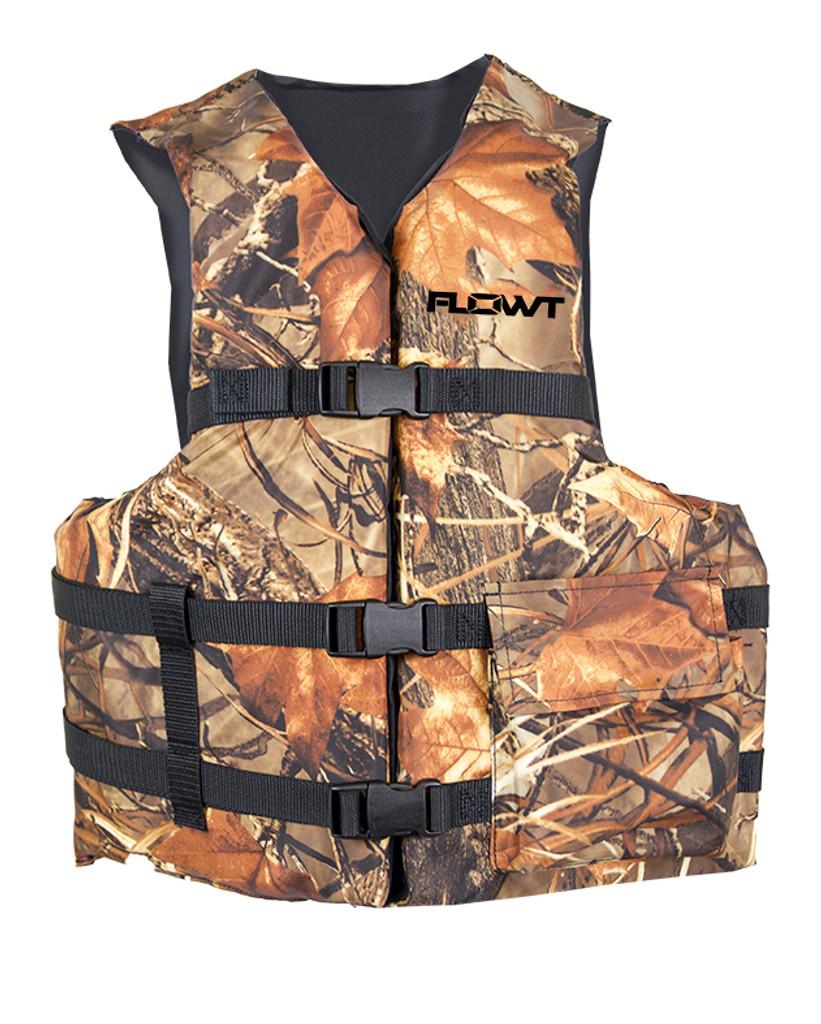 Flowt Fishing Angler Vests - Type III, USCG Approved