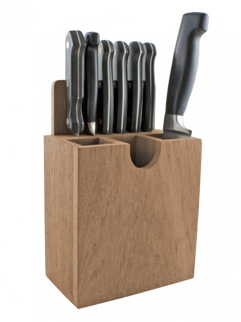 Teak Cutlery Rack