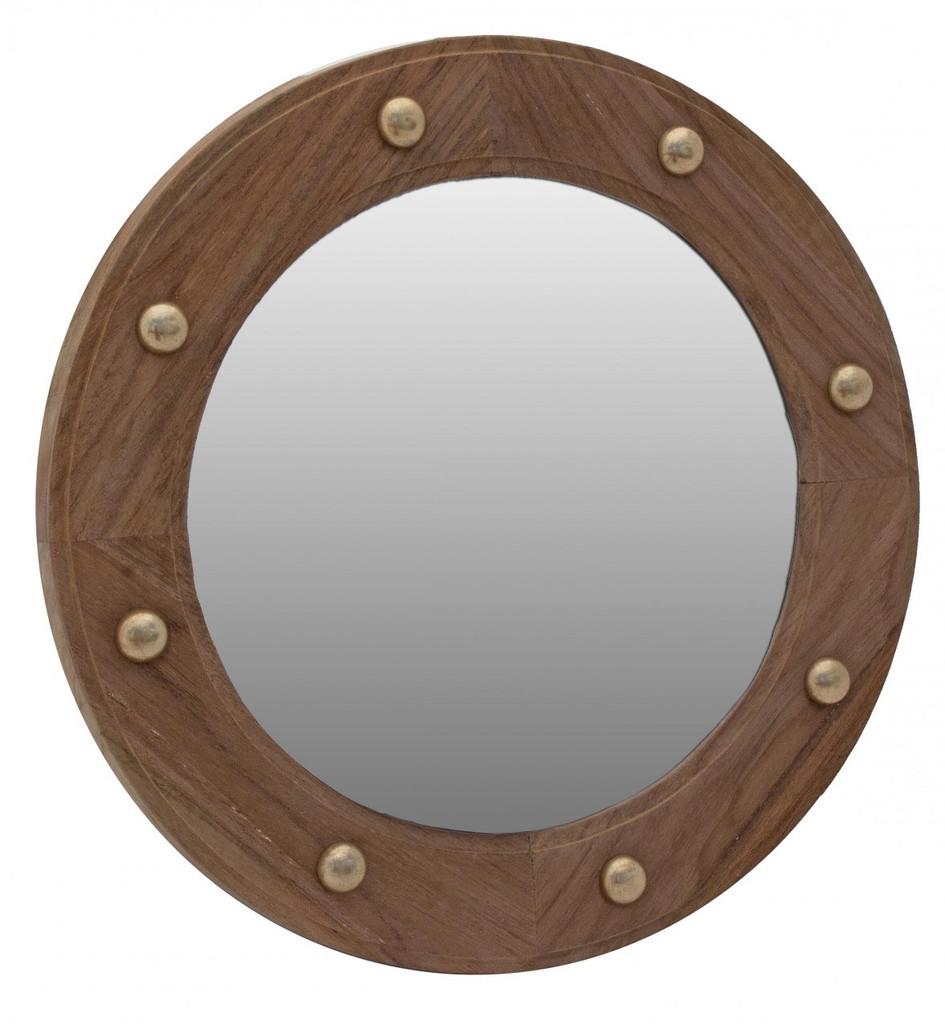 SeaTeak Mirror Porthole