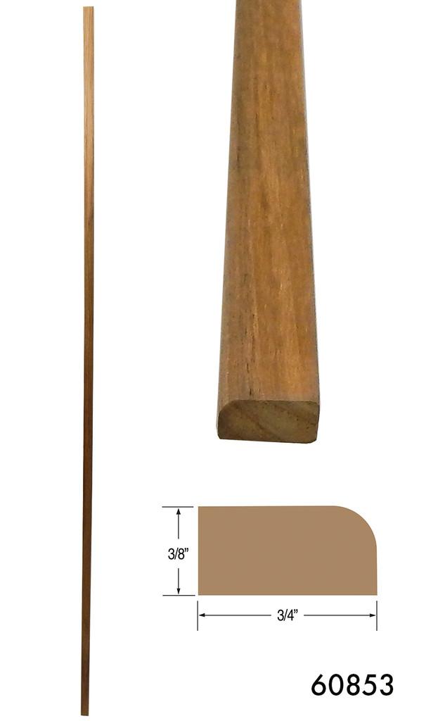 Teak Stop Molding - Large (Part #60853)