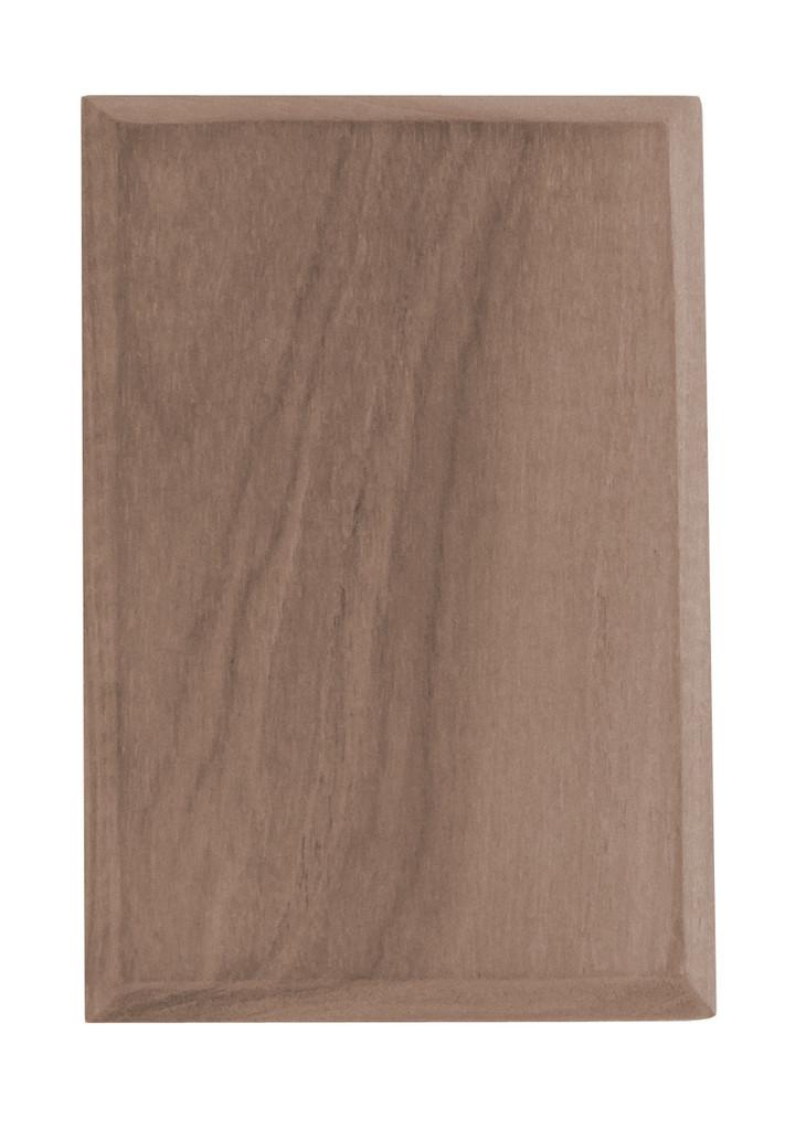 Teak Blank Plate Cover, 2-pack