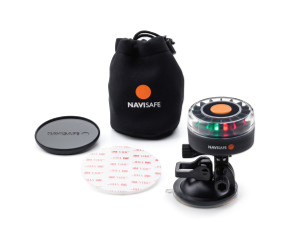 Navisafe Navilight Tricolor 2NM Boat Light with Suction Base