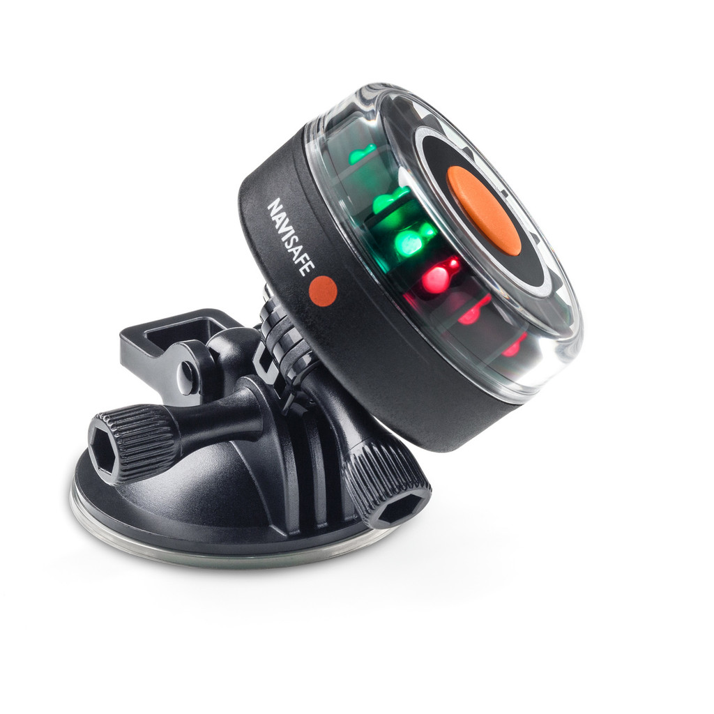 Navisafe Navilight Tricolor 2NM Boat Light w/ suction Base