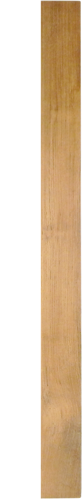 "Solid Teak Lumber Plank-3/8 x 5-3/4 x 60"" (5 feet) Part #60810"