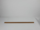 "Solid Teak Lumber Plank-7/8 x 7/8 x 30"" (2.5 feet) Part #60814"
