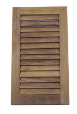 "Teak Louvered Insert 16""H VERTICAL (Part #60710)"