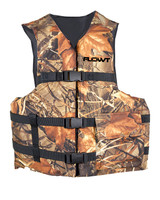Flowt Fishing Angler Vests - Type III, USCG Approved