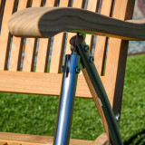 Windrift Folding chair with Stainless Steel legs