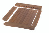Louvered Door Side Rails;  2-pack Build Your Own Louvered Door (Part #60880)