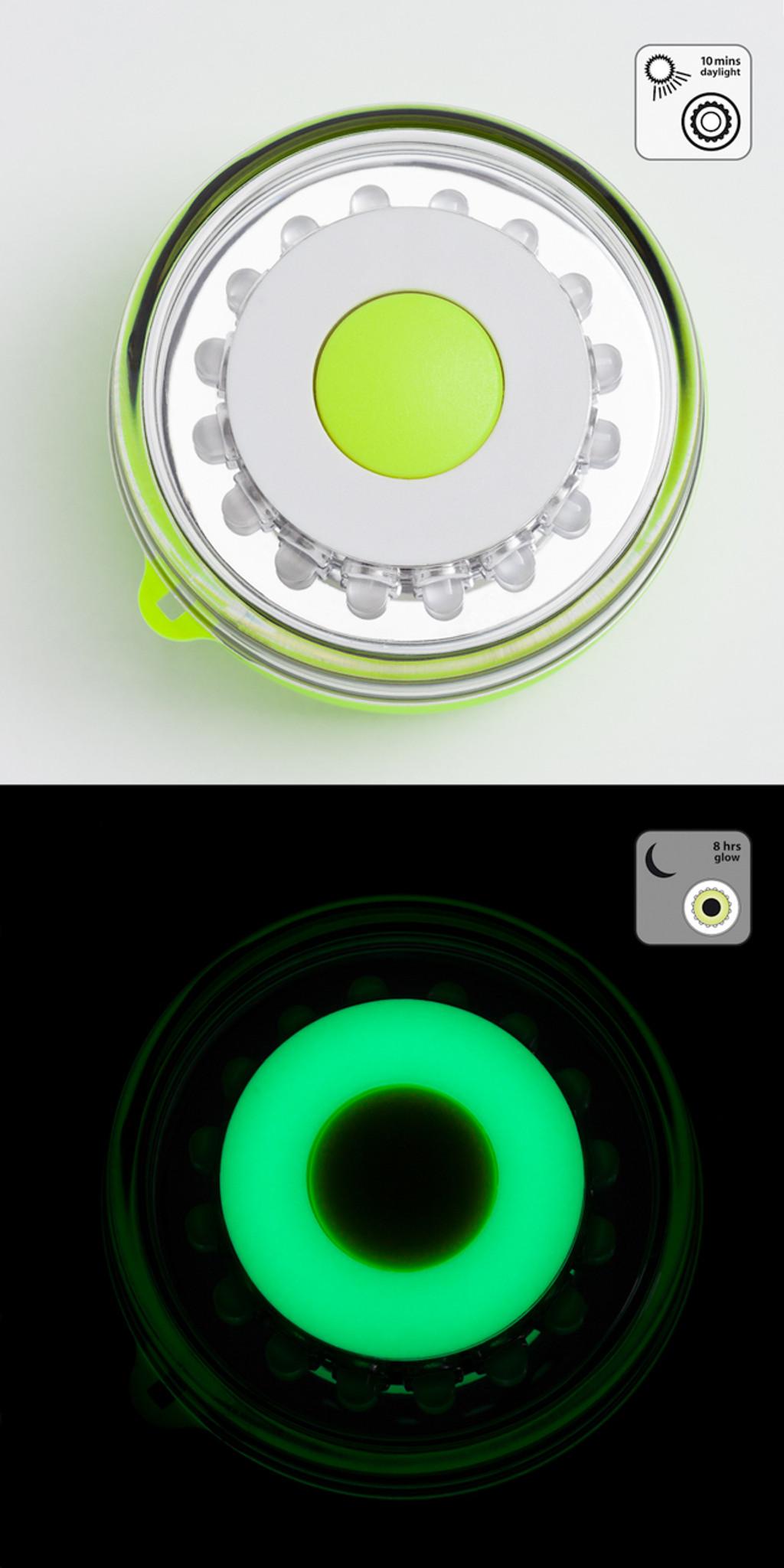 Glow In The Dark Navisafe Portable Navilight 360° 2NM Rescue Green