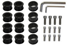 SUPRAX Parts Kit - 12 bolts, 3 sizes of inserts, 2 allen wrenches