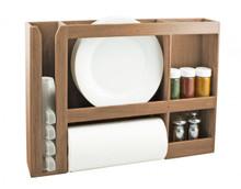 Teak Dish/Cup/Spice/Towel Rack