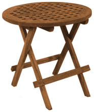 SeaTeak Round Deck Tables