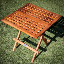 SeaTeak Square Deck Tables